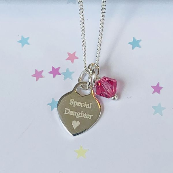 Jewellery gift for a special girl - FREE ENGRAVING